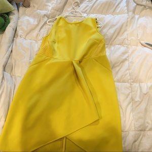 ELOQUII Studio Mesh Combo Body Con Dress